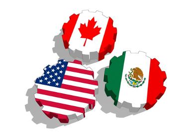 O Nafta é um bloco econômico formado por EUA, Canadá e México