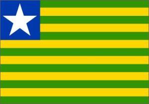 A bandeira do Piauí