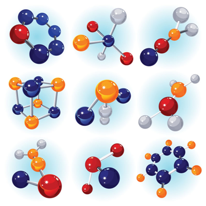 A geometria molecular mostra a disposição espacial dos átomos em uma molécula