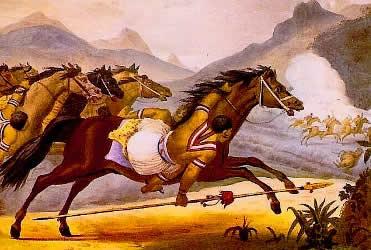 Os kadiwéu lutaram na Guerra do Paraguai em prol do reconhecimento de suas propriedades.