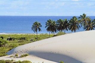 Praia de Jericoacoara, um dos principais pontos turísticos do Nordeste *