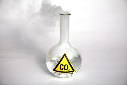 O gelo-seco é o dióxido de carbono no estado sólido