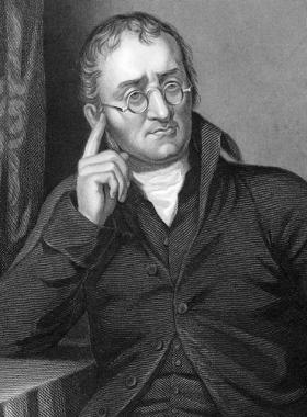 John Dalton, o criador do primeiro modelo atômico aceito para o átomo