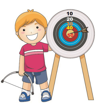 """Utilize o """"tiro ao alvo"""" em suas aulas de matemática. O jogo pode ser relacionado com diversos conteúdos"""