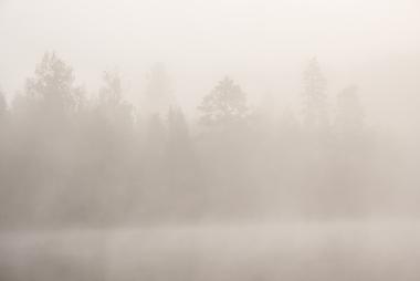 A saturação do ar acontece quando o ambiente está muito úmido
