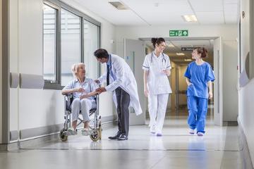 O hospital é um local destinado, principalmente, à internação e tratamento de enfermos