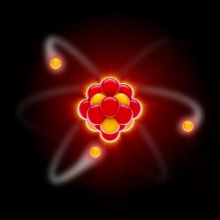 A estrutura do átomo é formada basicamente por duas regiões distintas, o núcleo e a eletrosfera