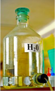 A água destilada é um exemplo de substância