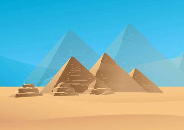 A área da pirâmide é a medida de sua superfície