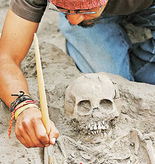 A arqueologia utiliza a radioatividade artificial