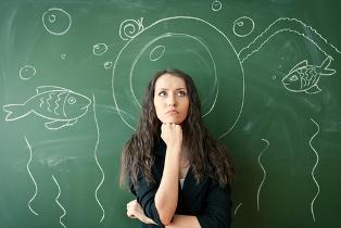 A aula sobre peixes pode fugir do velho quadro e giz