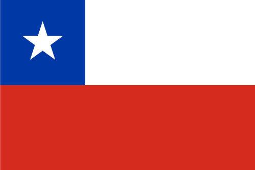 A bandeira do Chile foi adotada em 1817 durante o processo de independência do país