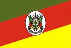 A bandeira do Rio Grande do Sul