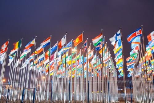 A bandeira de uma nação é o símbolo mais característico de um país