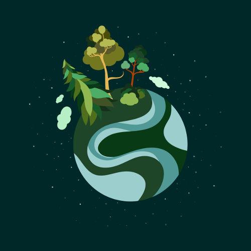 A biosfera é um dos níveis de organização estudados em Ecologia e é o local onde a vida é possível