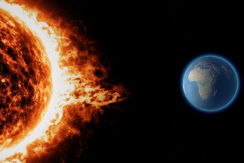 A cada segundo, o Sol emite cerca de 65 bilhões de neutrinos por centímetro quadrado