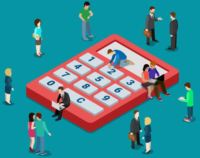 A calculadora não pode ser a única a conhecer os cálculos, mas sim uma ferramenta para agilizá-los