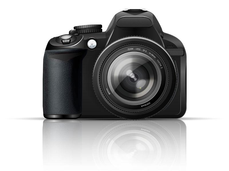 A câmera fotográfica é um instrumento óptico que funciona de acordo com os princípios da Óptica Geométrica