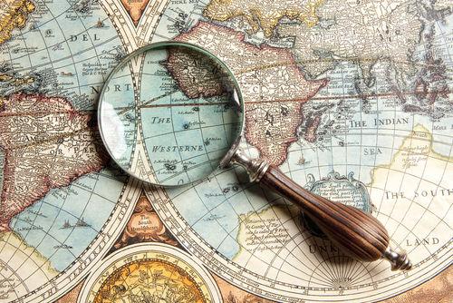 A cartografia representa o espaço e auxilia a sua compreensão