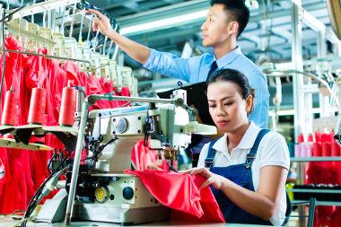 A China é um dos principais países recentemente industrializados