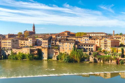 A cidade de Albi, no sul da França, foi um dos maiores redutos do catarismo na Baixa Idade Média
