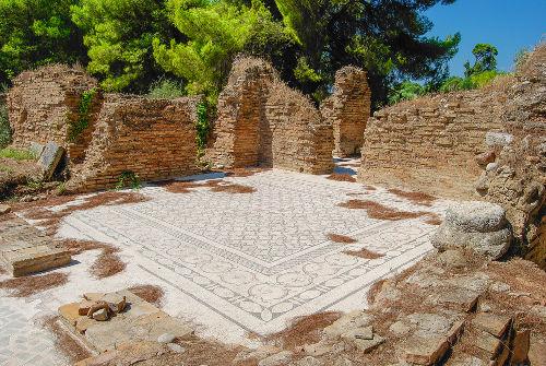 A cidade de Olímpia era a sede dos jogos olímpicos na Grécia Antiga
