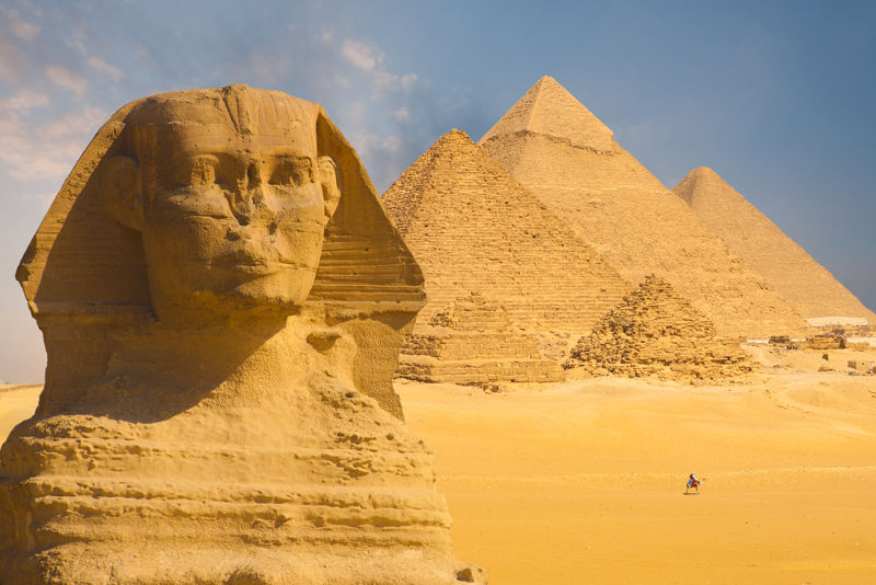A civilização egípcia é um dos principais símbolos da Antiguidade Oriental