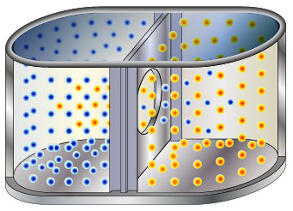 A colisão entre as moléculas é determinante para a ocorrência de uma reação.
