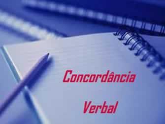 A concordância verbal está relacionada a casos específicos