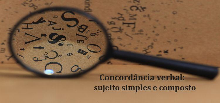 A concordância verbal é estabelecida com a adaptação em número e pessoa entre o verbo e o sujeito da oração.