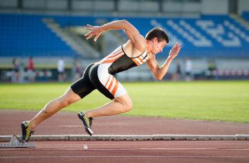 A corrida foi um dos primeiros esportes praticados em competições