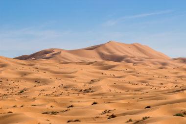 A desertização deu origem ao deserto do Saara e a outras paisagens inóspitas da Terra