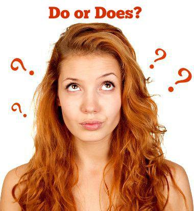 """A diferença entre """"does"""" e """"do"""" está diretamente ligada ao uso dos pronomes pessoais"""