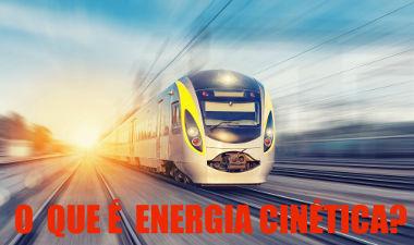 A energia cinética está associada à velocidade de um corpo