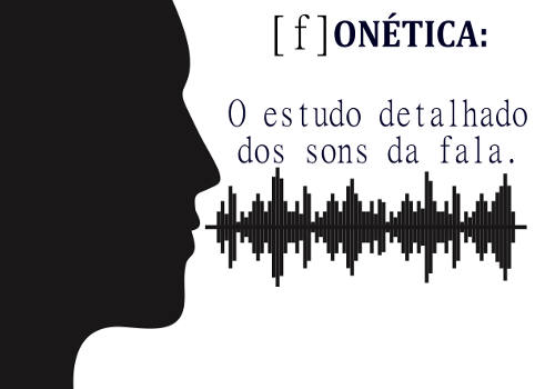 A Fonética estuda os sons produzidos em uma língua
