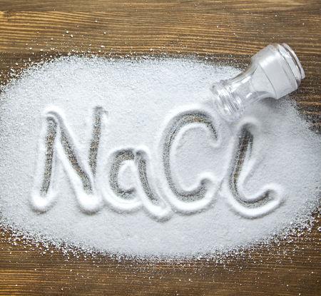 A fórmula do cloreto de sódio é um conhecido íon fórmula