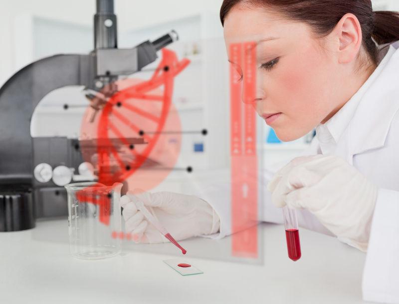 A genética é uma área importante na biologia forense