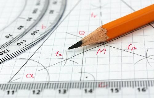 A geometria analítica é o estudo que relaciona geometria e álgebra
