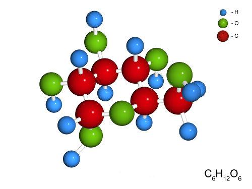 A glicose é um importante carboidrato que nos fornece energia