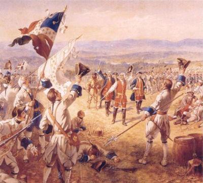 A Guerra dos Sete Anos (1756-1763) foi travada entre as principais monarquias nacionais europeias do século XVIII