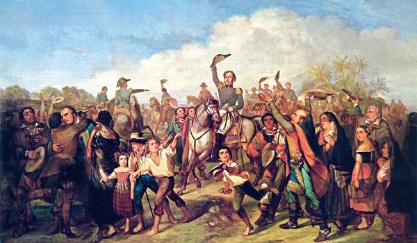 A Independência do Brasil foi efetivada em 7 de setembro de 1822