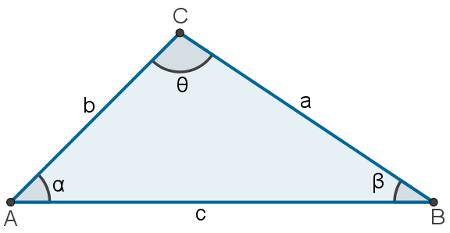 A lei dos senos pode ser usada para encontrar as medidas de lados e ângulos internos de um triângulo qualquer