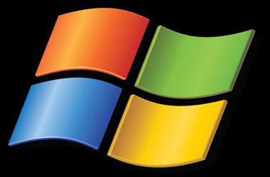 A logomarca do Windows.