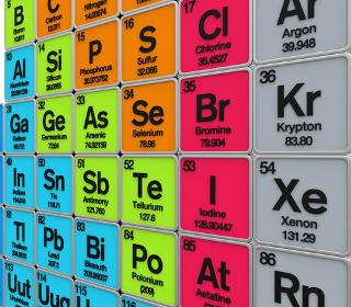 A massa dos elementos na Tabela Periódica não é a massa atômica
