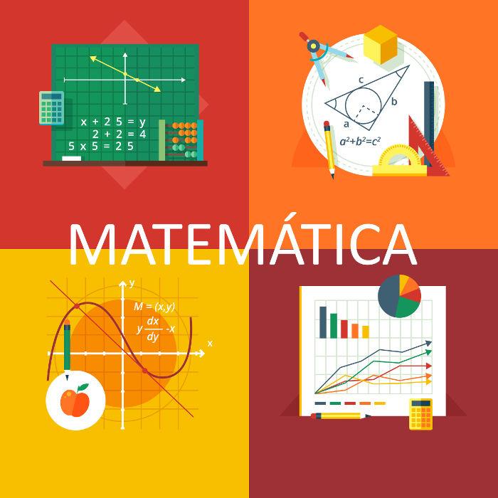 A Matemática apresenta quatro áreas de estudo