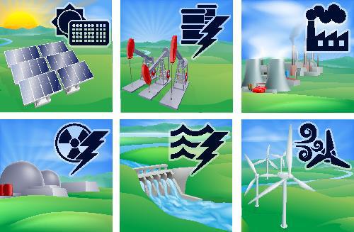A matriz energética de um país pode ter sua base em fontes de energia renováveis ou não renováveis
