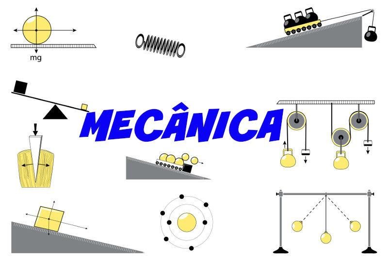 A Mecânica é o ramo da Física relacionado com o estudo dos movimentos