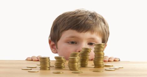 A mesada cria consciência do valor do dinheiro