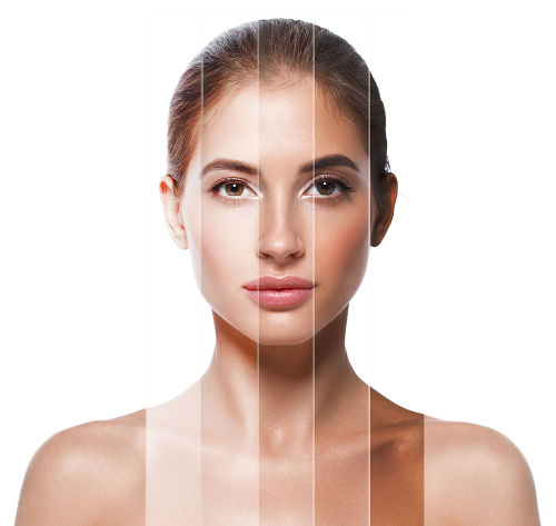 A pele é uma característica fenotípica determinada pelos genes que pode ser alterada com a ação do meio
