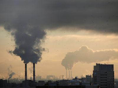 A poluição do ar é um dos principais problemas ambientais nos centros urbanos